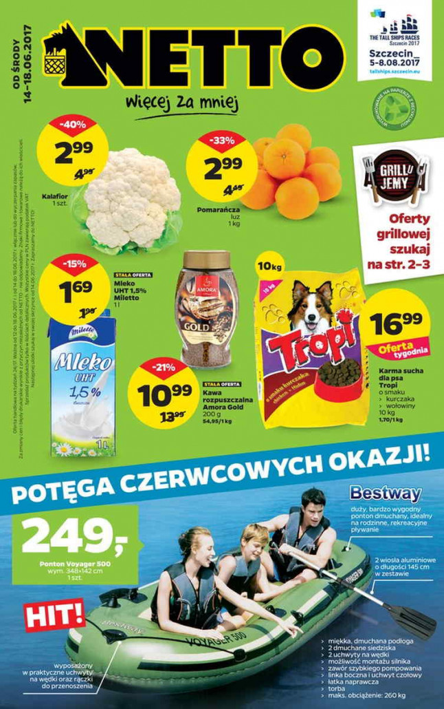 Netto gazetka od 14.06.2017 do 18.06.2017