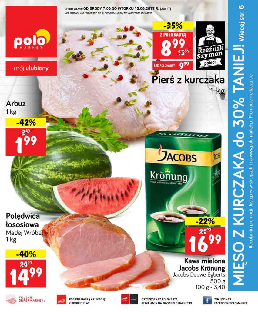 Polomarket gazetka od 07.06.2017 do 13.06.2017