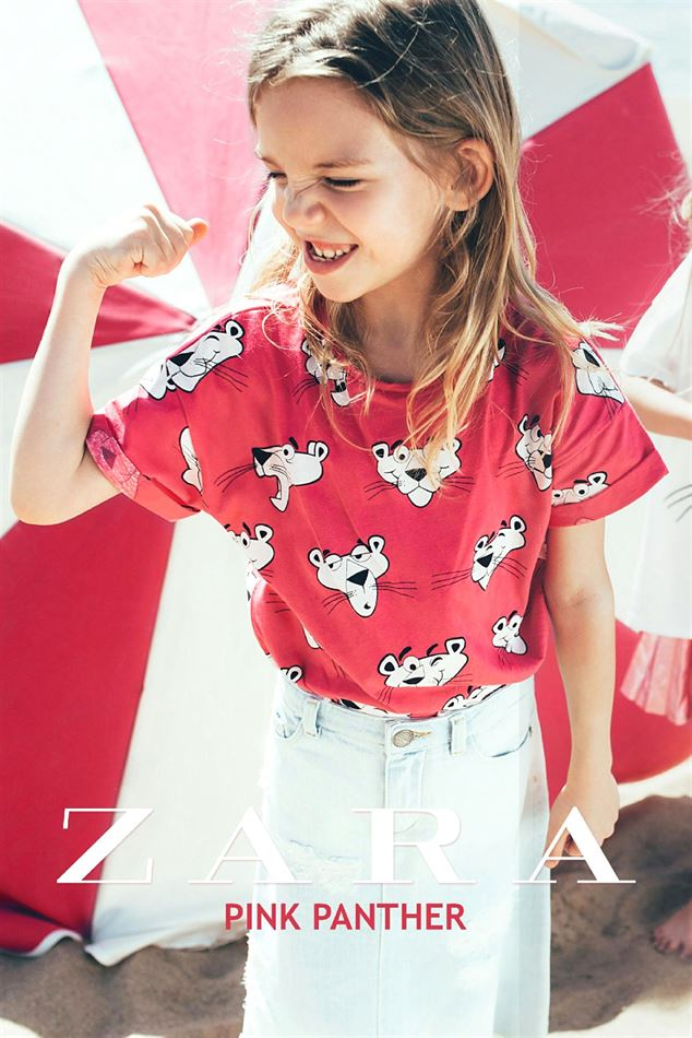 ZARA gazetka Pink Panther od 01.06.2017 do 18.06.2017