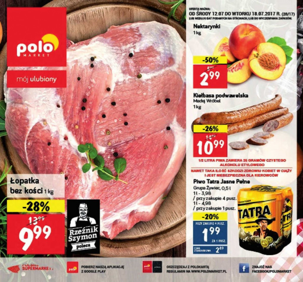 Polomarket gazetka od 12.07.2017 do 18.07.2017