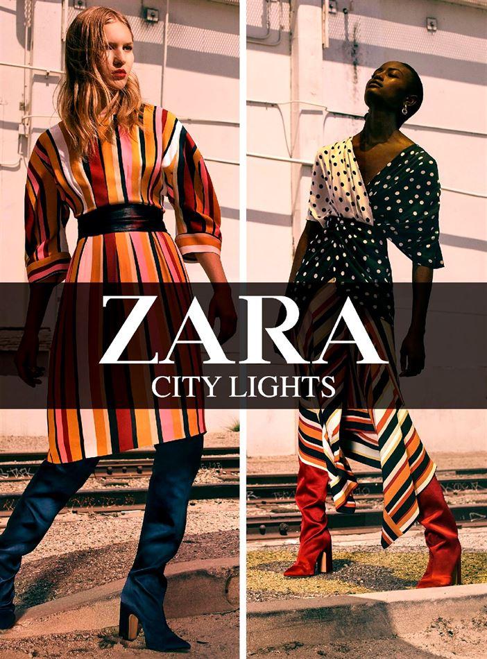 ZARA gazetka City Lights od 27.07.2017 do 31.08.2017