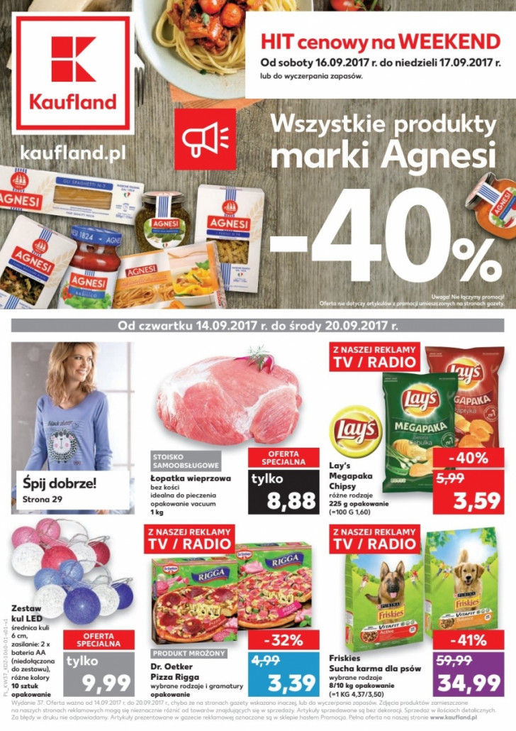 Kaufland gazetka od 14.09.2017 do 20.09.2017
