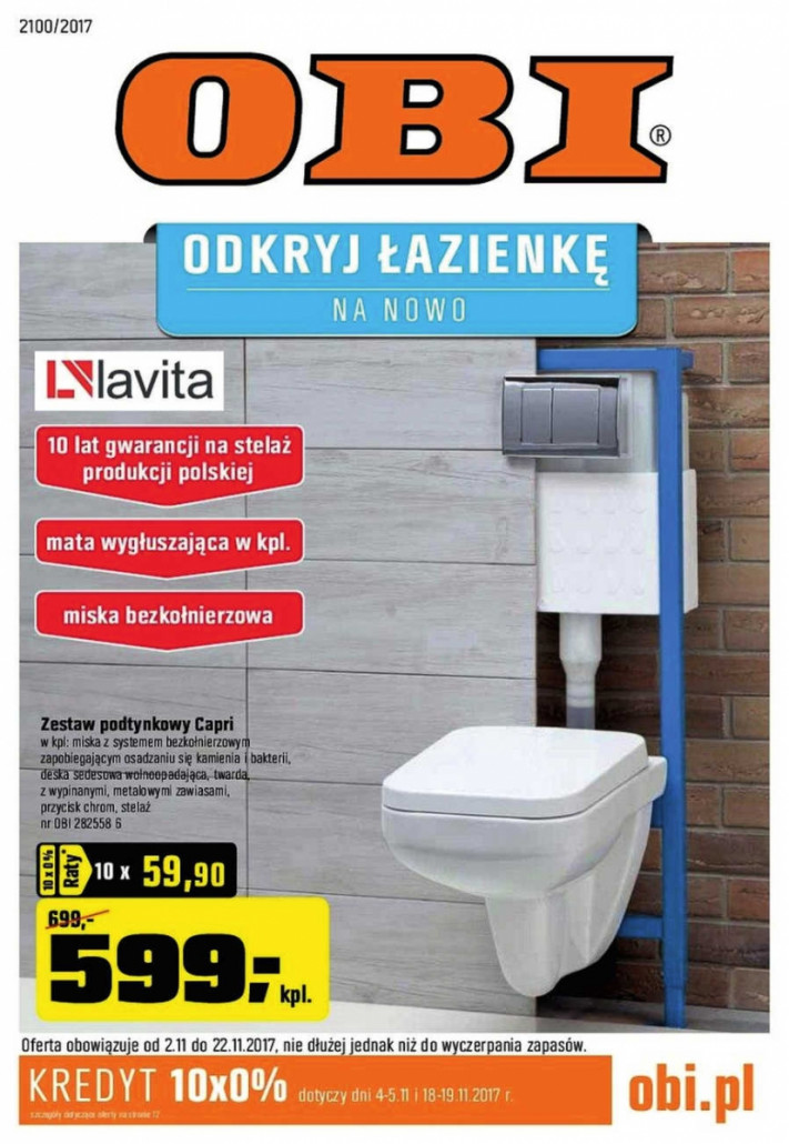 OBI Gazetka od 02.11.2017 do 22.11.2017