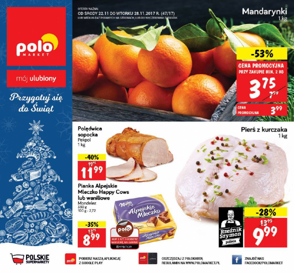 Polomarket gazetka od 15.11.2017 do 21.11.2017
