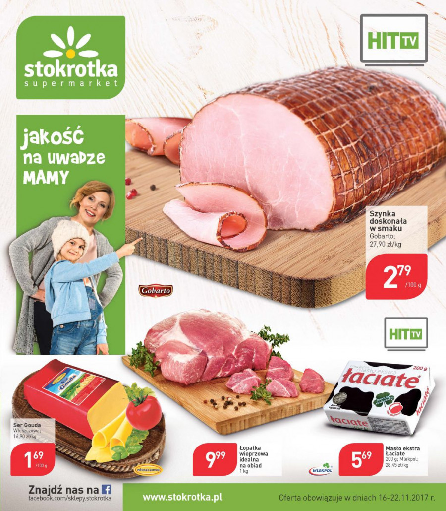 Stokrotka gazetka od 16.11.2017 do 22.11.2017