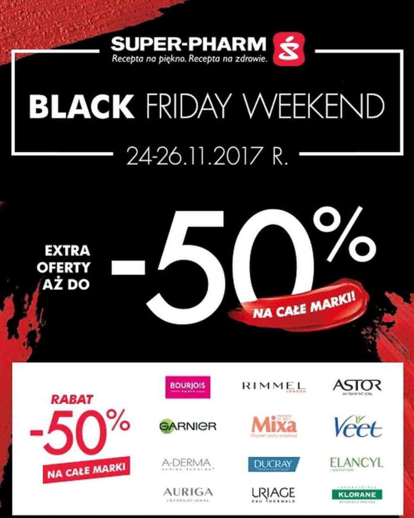 Super Pharm Black Friday gazetka od 24.11.2017 do 26.11.2017