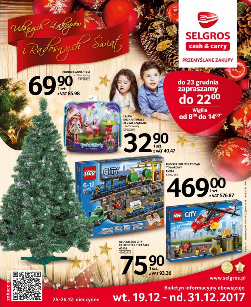 Selgros Gazetka od 19.12.2017 do 31.12.2017
