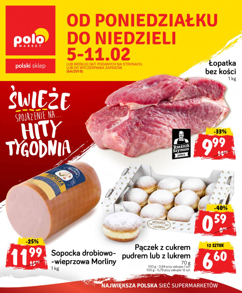 Polomarket gazetka od 05.02.2018 do 11.02.2018