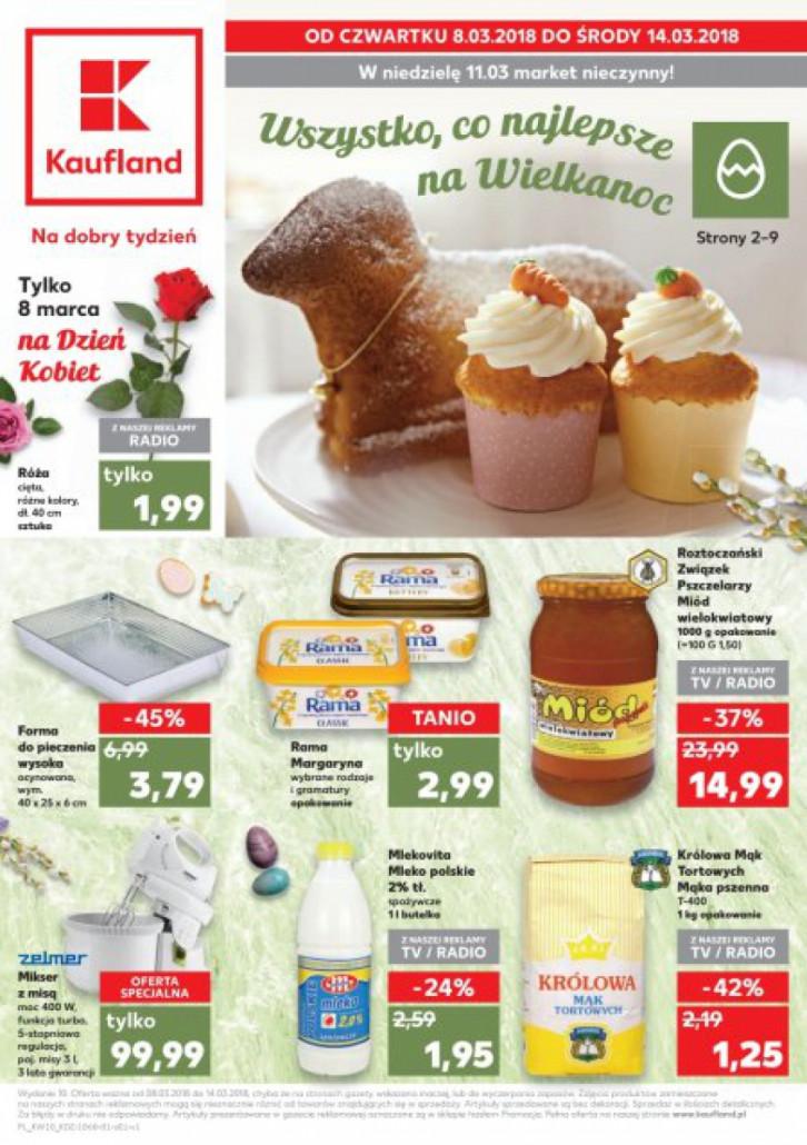 Kaufland gazetka od 08.03.2018 do 14.03.2018