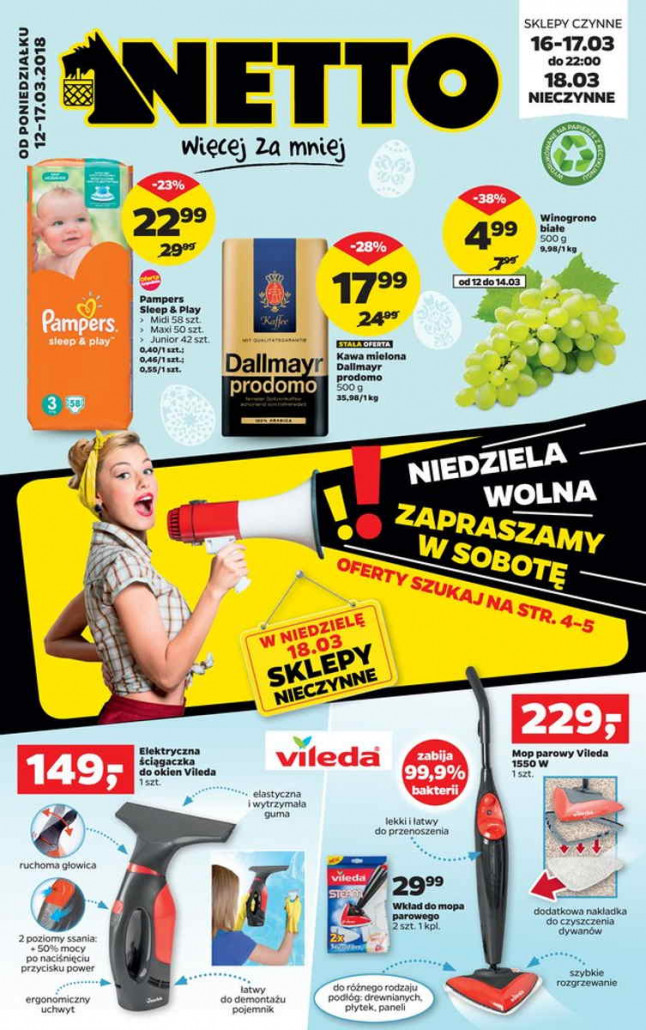 Netto gazetka od 12.03.2018 do 17.03.2018