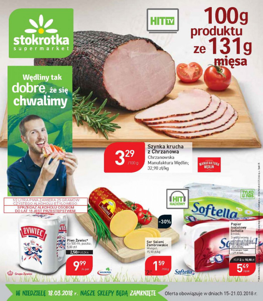 Stokrotka gazetka od 15.03.2018 do 21.03.2018