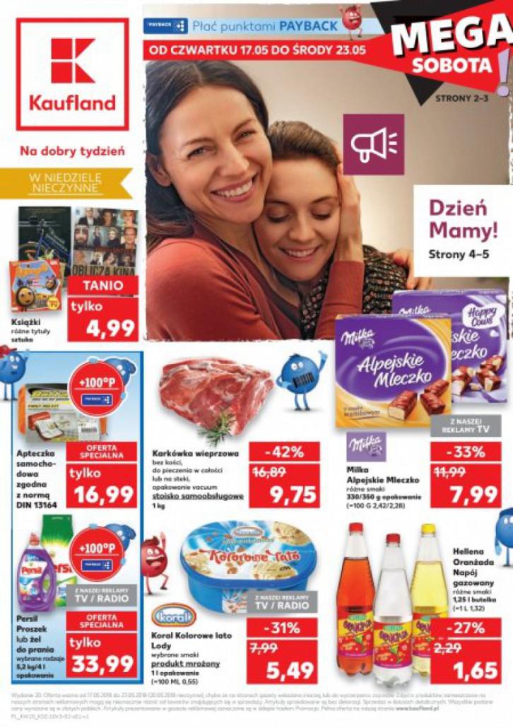 Gazetka KAUFLAND od 17.05.2018 do 23.05.2018