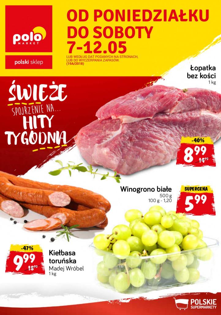 Polomarket gazetka od 07.05.2018 do 12.05.2018