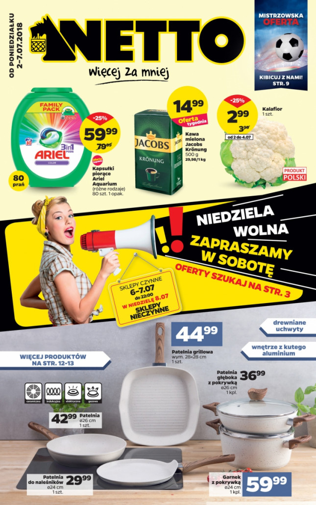 Netto gazetka od 02.07.2018 do 08.07.2018