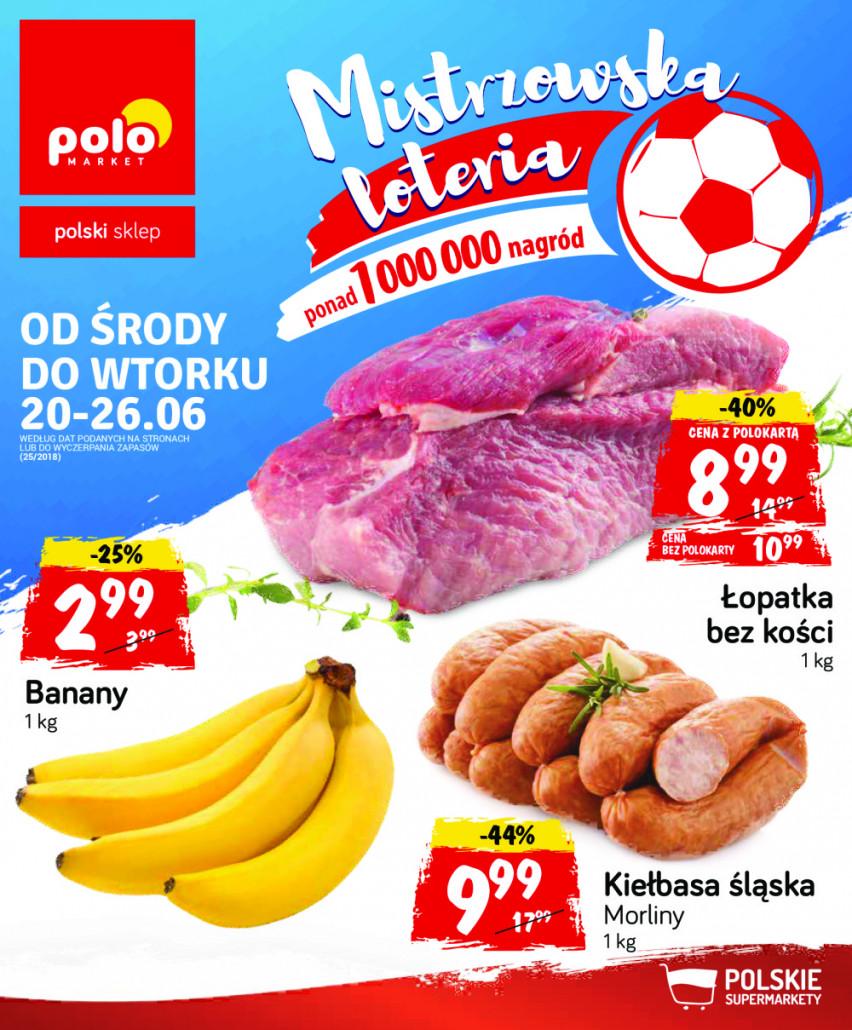 Polomarket gazetka od 20.06.2018 do 26.06.2018