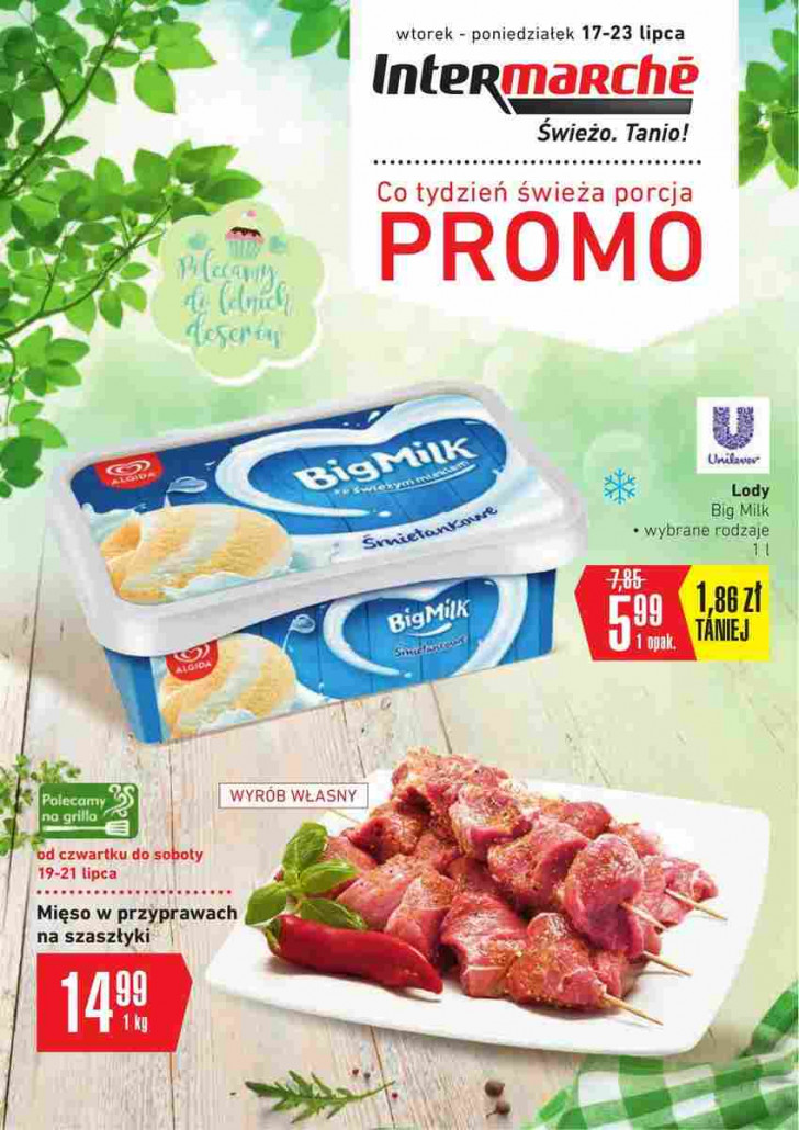 Intermarche gazetka od 17.07.2018 do 23.07.2018