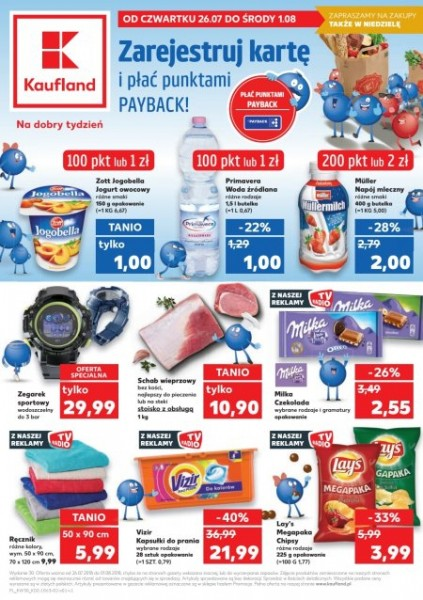 Gazetka KAUFLAND od 26.07.2018 do 18.08.2018
