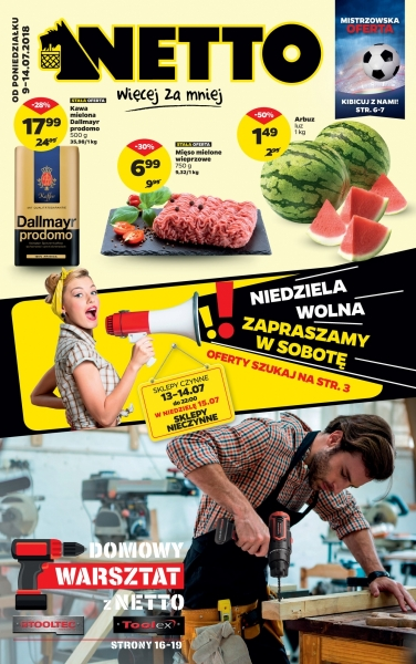 Netto gazetka od 09.07.2018 do 15.07.2018
