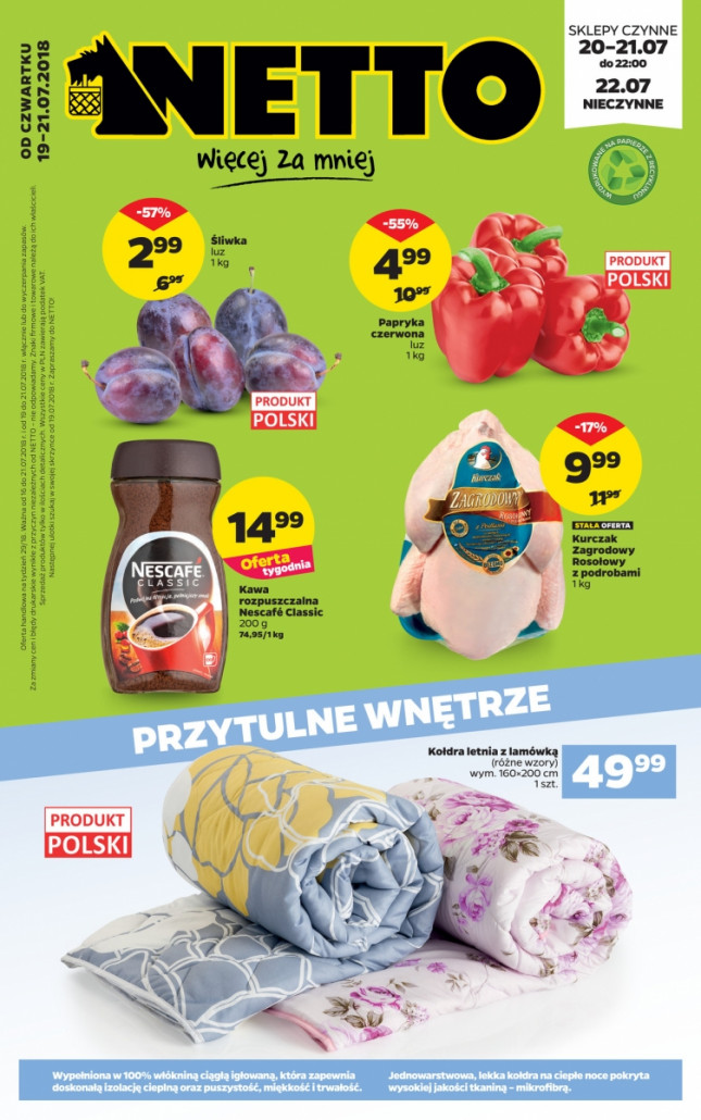 Netto gazetka od 19.07.2018 do 22.07.2018