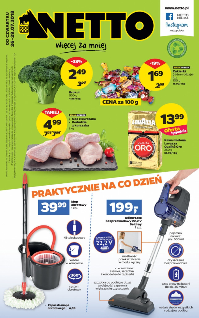 Netto gazetka od 26.07.2018 do 29.07.2018