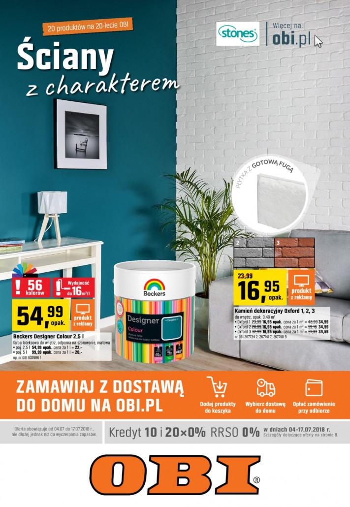 OBI Gazetka od 04.07.2018 do 17.07.2018