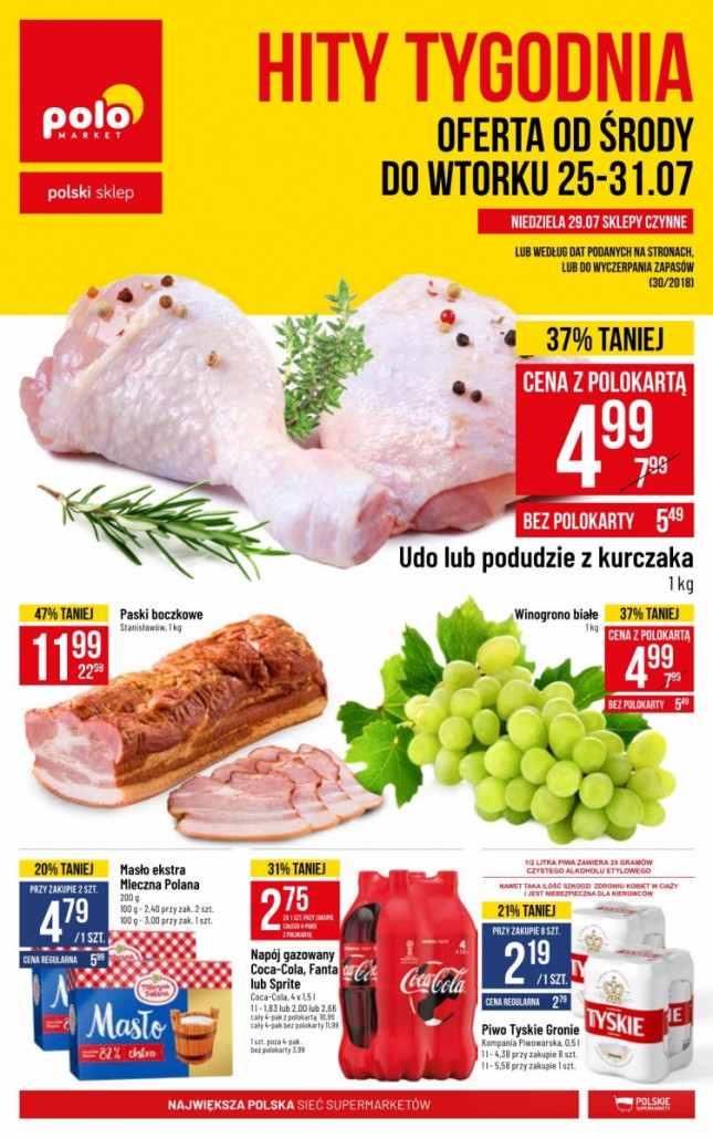 Polomarket gazetka od 25.07.2018 do 31.07.2018