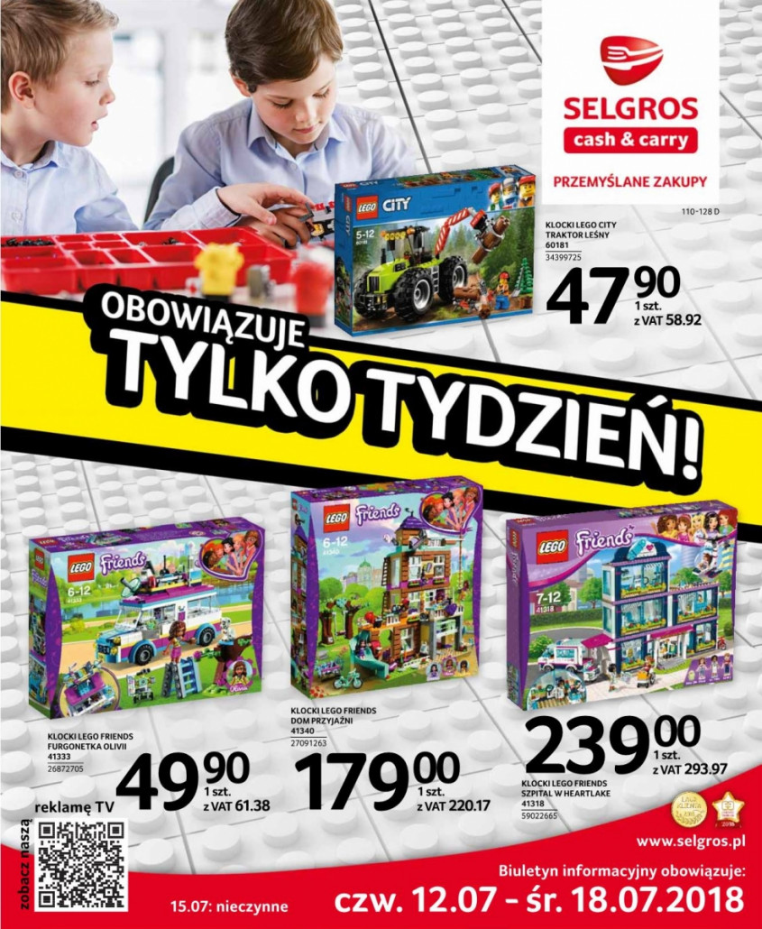 Selgros Gazetka od 12.07.2018 do 25.07.2018