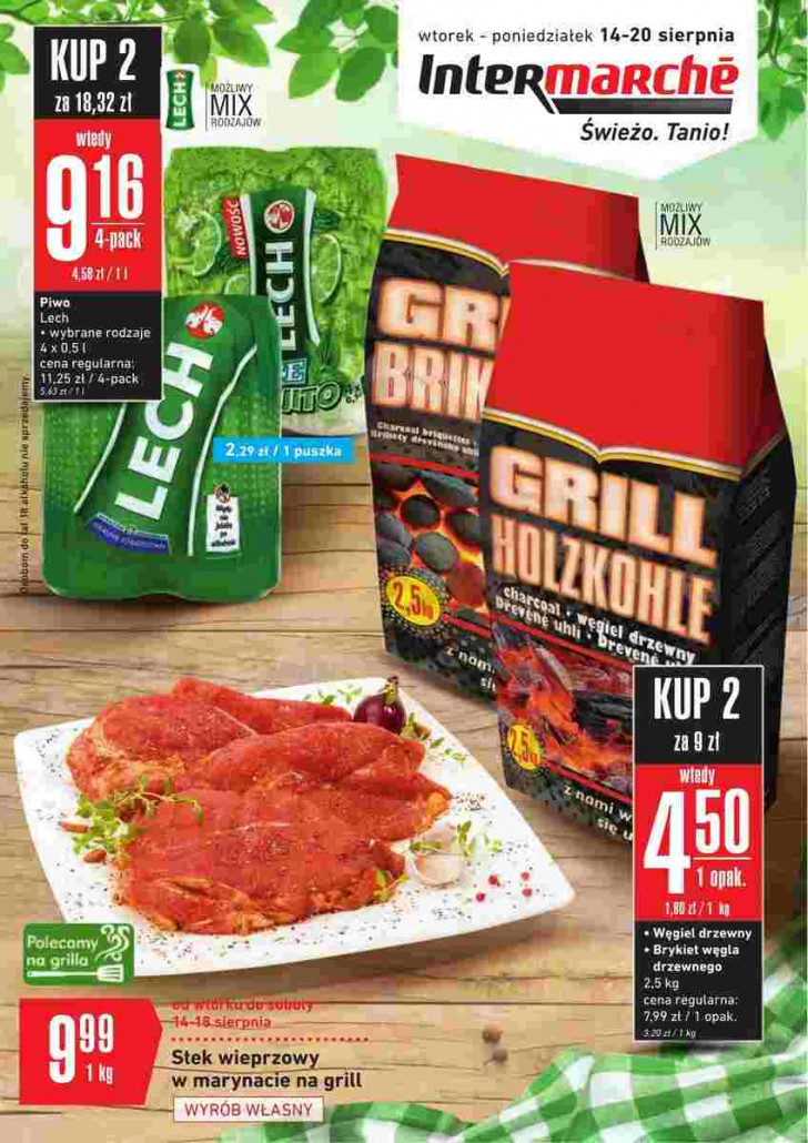 Intermarche gazetka od 14.08.2018 do 20.08.2018