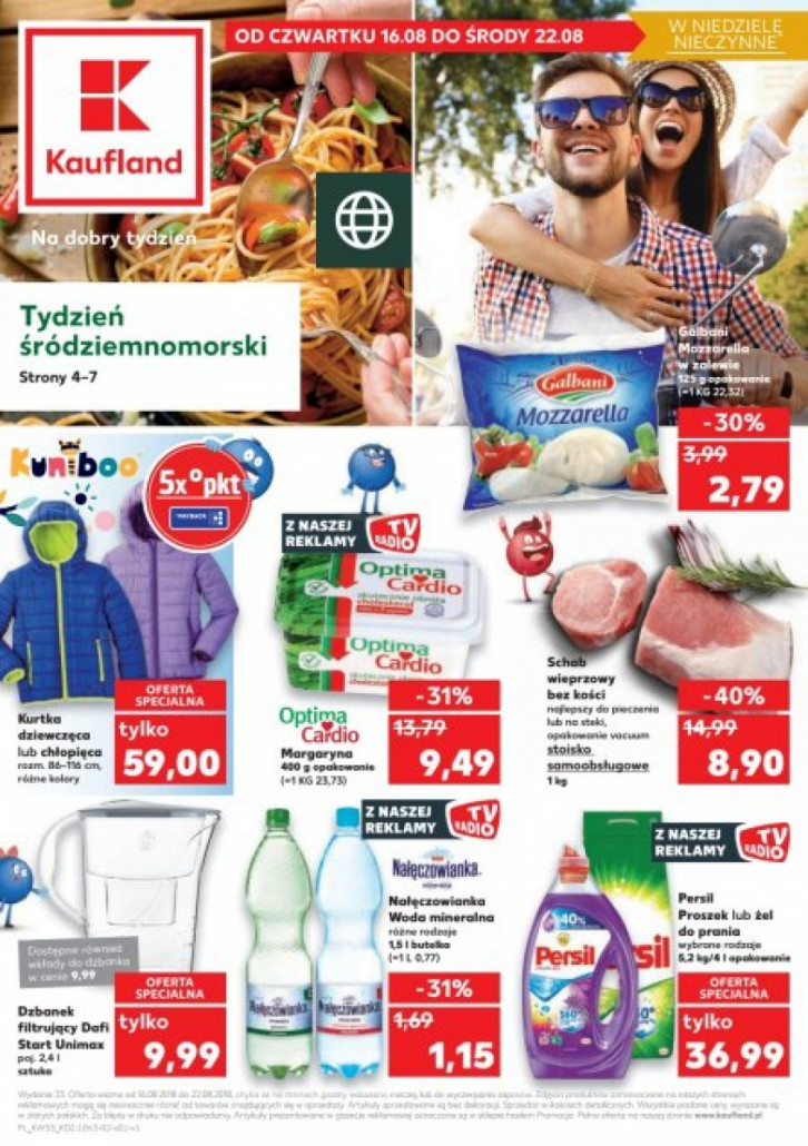 Gazetka KAUFLAND od 16.08.2018 do 22.08.2018
