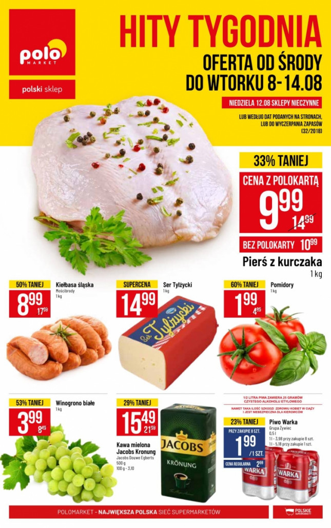 Polomarket gazetka od 08.08.2018 do 14.08.2018