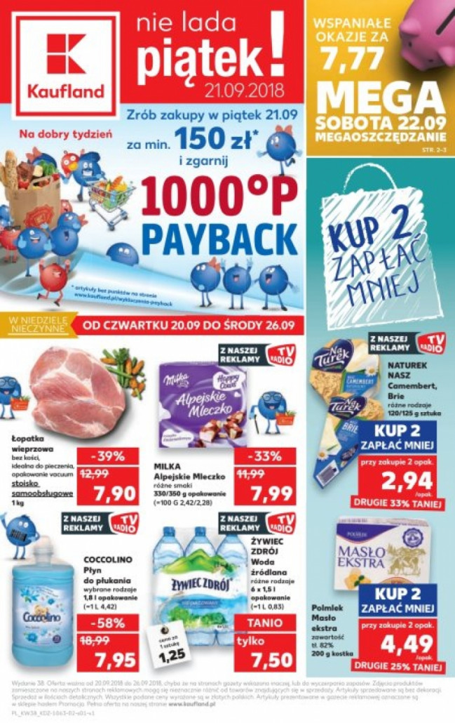 Gazetka KAUFLAND od 20.09.2018 do 26.09.2018