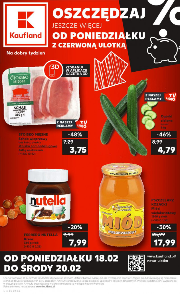 Gazetka KAUFLAND od 18.02.2019 do 20.02.2019